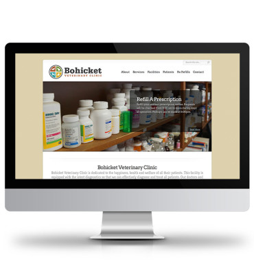 Bohicket Vets Website Design