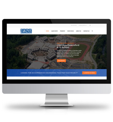 Engineering Services Group Website Design