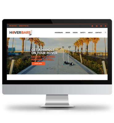 HoverBars Website Design