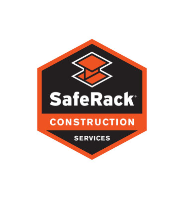 SafeRack Construction Logo Design