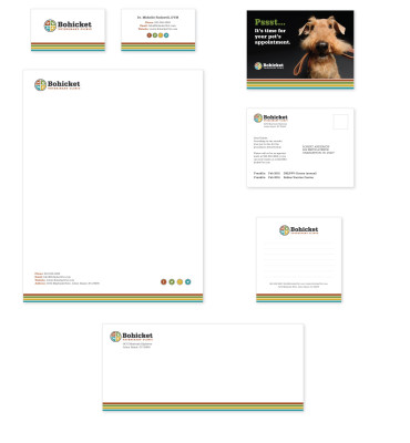 Bohicket Vets Print Collateral Design