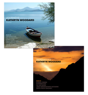 Kathryn Woodard CD Cover Designs