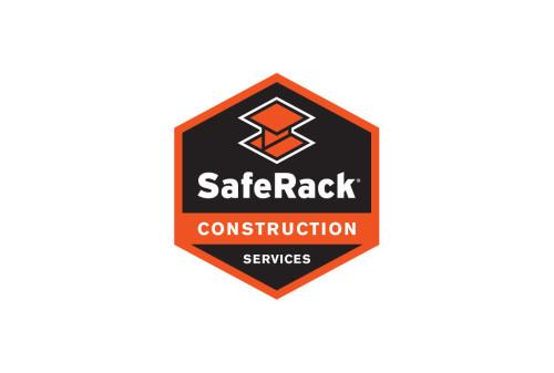 SafeRack Construction Logo Design