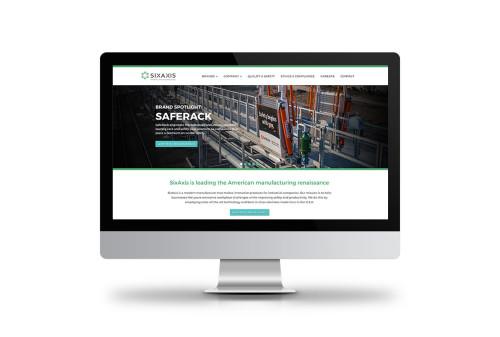 SixAxis Website Design
