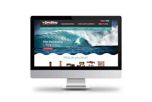 The DarkRoom Website Design