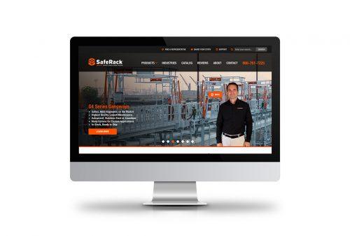 SafeRack Website